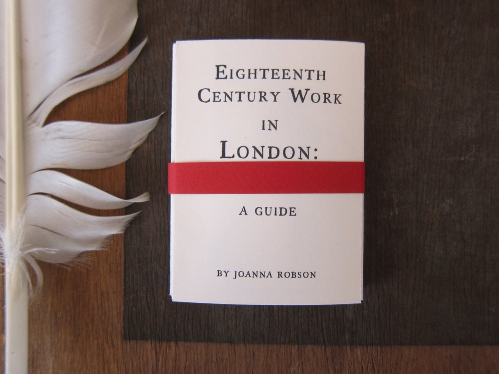 Image of Eighteenth Century Work in London: A Guide