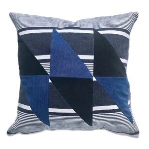 Image of GRAPHIC COLLAGE PILLOW #6