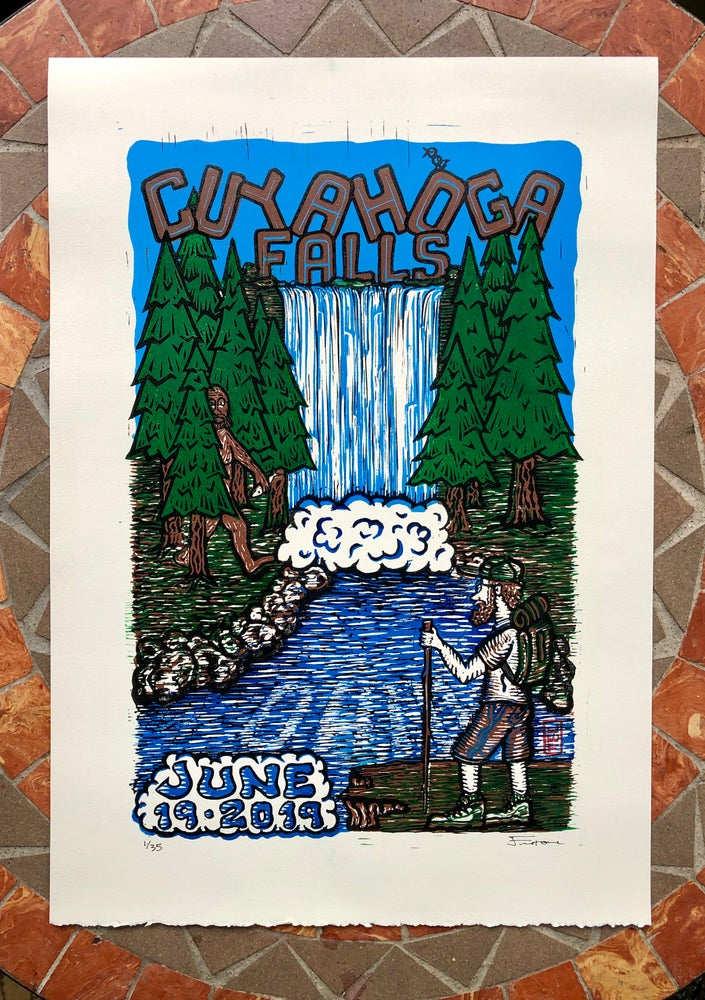 Image of Cuyahoga Falls prints