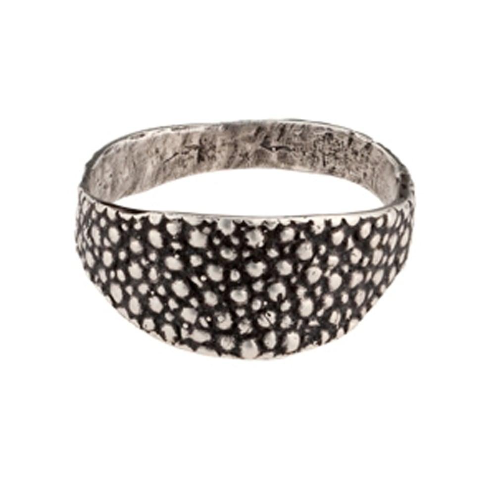 Image of Lauren Wolf Silver Stingray Signet Ring