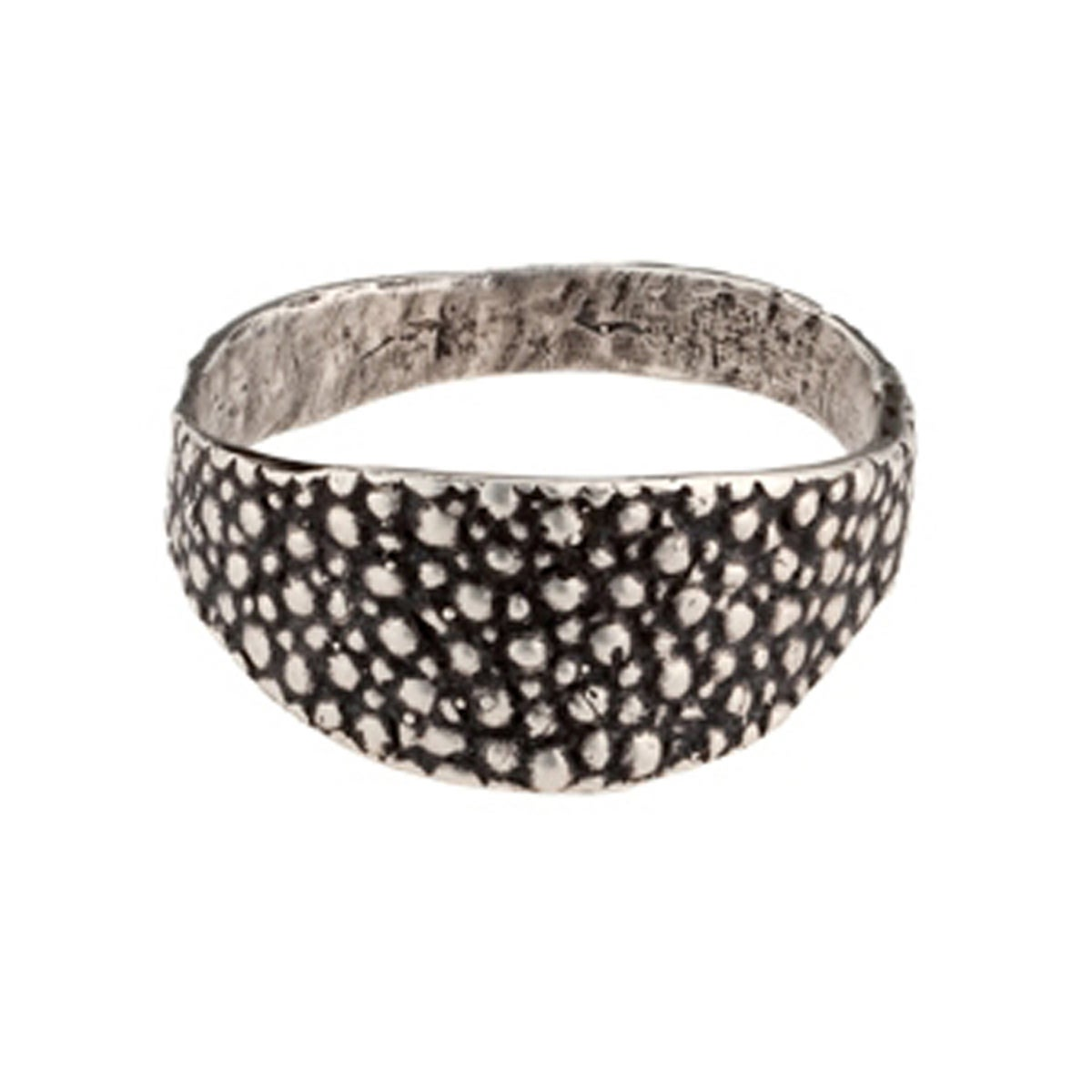 Image of Lauren Wolf Silver Stingray Signet Ring