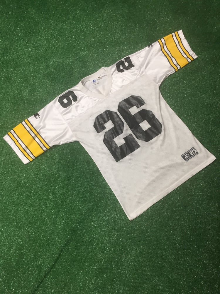 Image of Vintage 1995 Rod Woodson Pittsburgh Steelers Starter Jersey (Size 48)