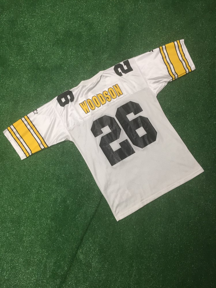 more photos 92a46 e5de0 Vintage 1995 Rod Woodson Pittsburgh Steelers Starter Jersey (Size 48)