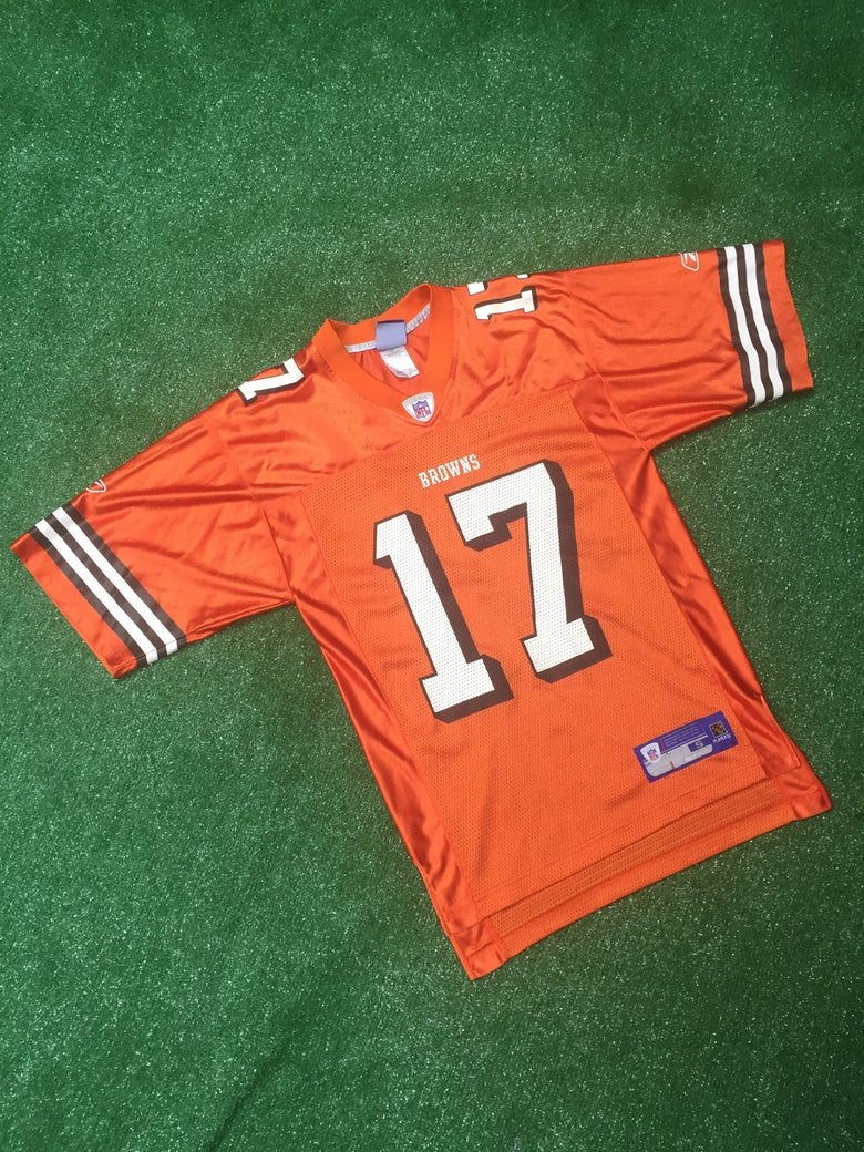 Image of Vintage 2005 Braylon Edwards Cleveland Browns Jersey (Size Small)