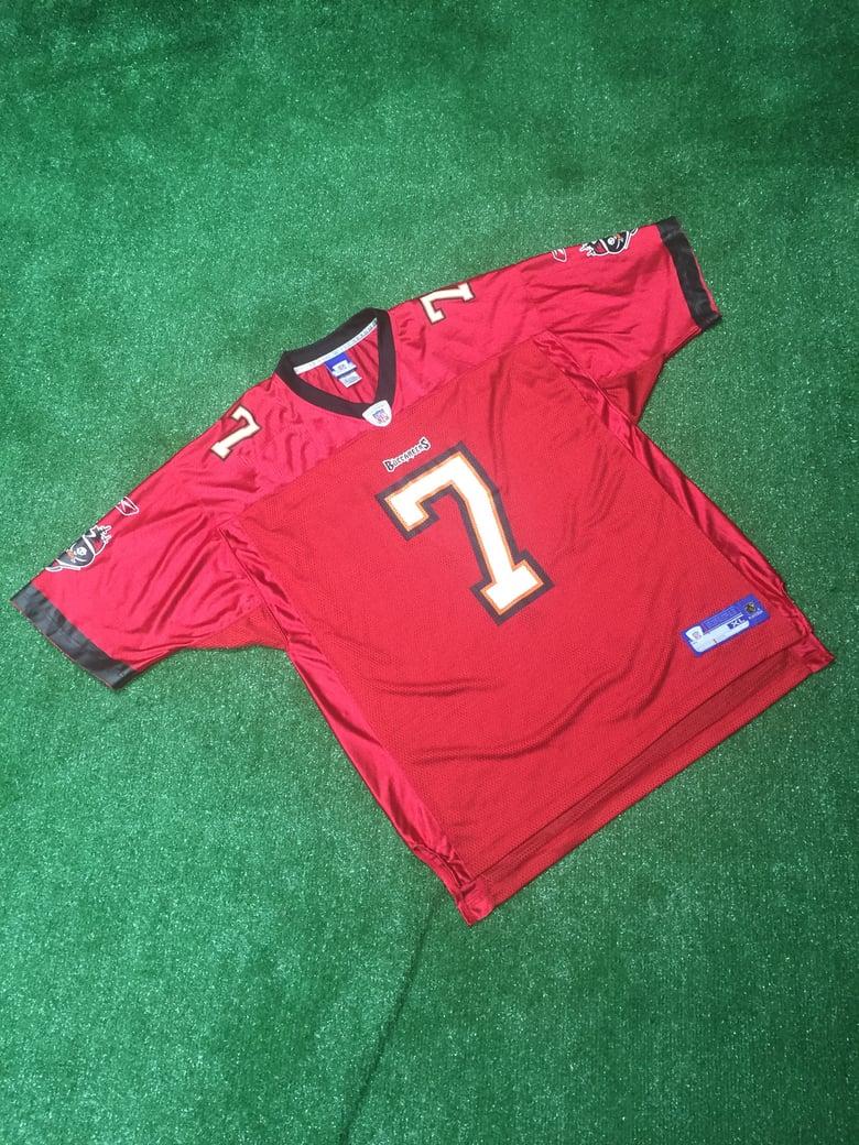 Image of Vintage 2007 Jeff Garcia Tampa Bay Buccaneers Jersey (Size XL)
