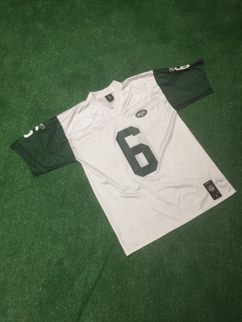 Image of Vintage 2008 Mark Sanchez New York Jets Jersey (Size Large)