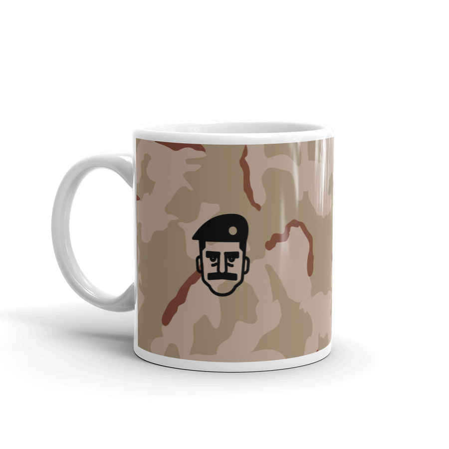Image of Saddam's Plaid Mug - 11oz