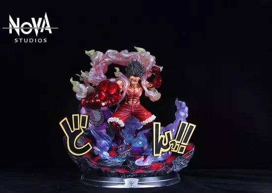 Image of One Piece Nova Studio Snakeman Luffy Resin Statue