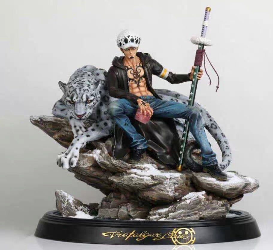 Image of [Pre-Order] One Piece Black Pearl Studio VIP Law Resin Statue