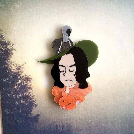 Image of Boggart as Snape