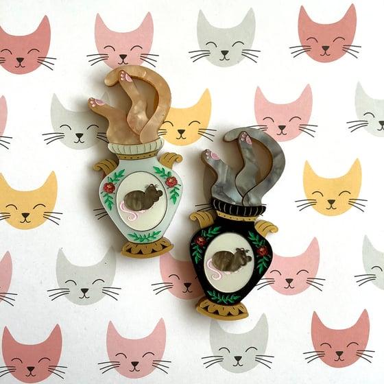 Image of Cat Vase - LIMITED