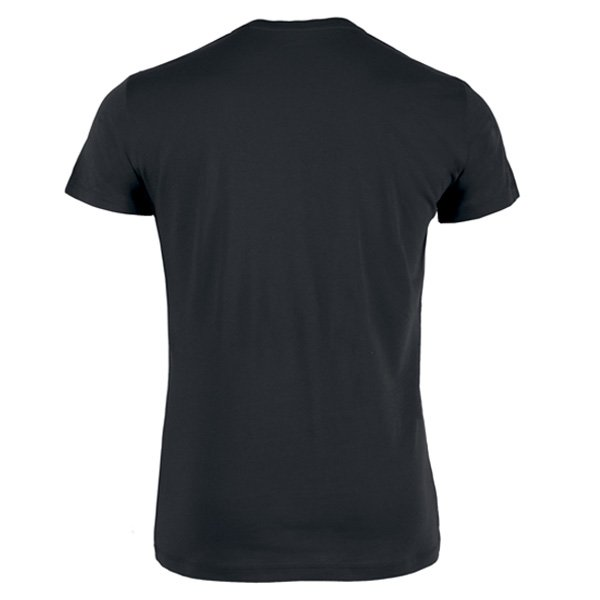 Image of T shirt noir homme 4 têtes noir et blanc