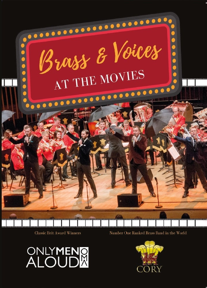 Image of Brass & Voices At The Movies DVD