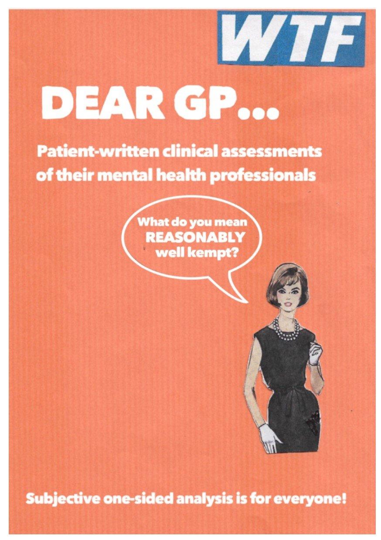 Image of Dear GP zine