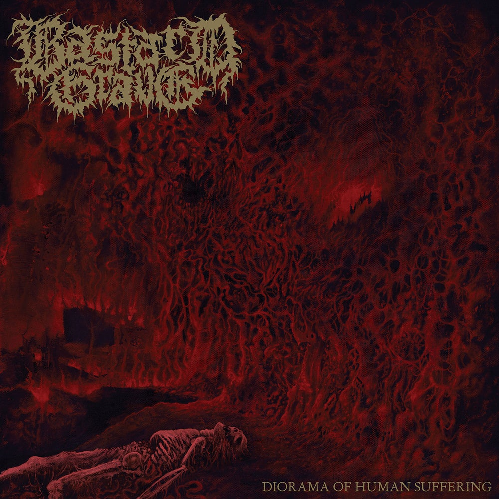 "Image of BASTARD GRAVE ""Diorama Of Human Suffering"" CD"