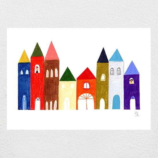 Image of Imaginary City II Print
