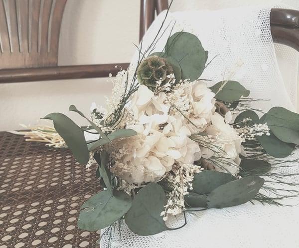 Image of Ramo novia flores preservadas