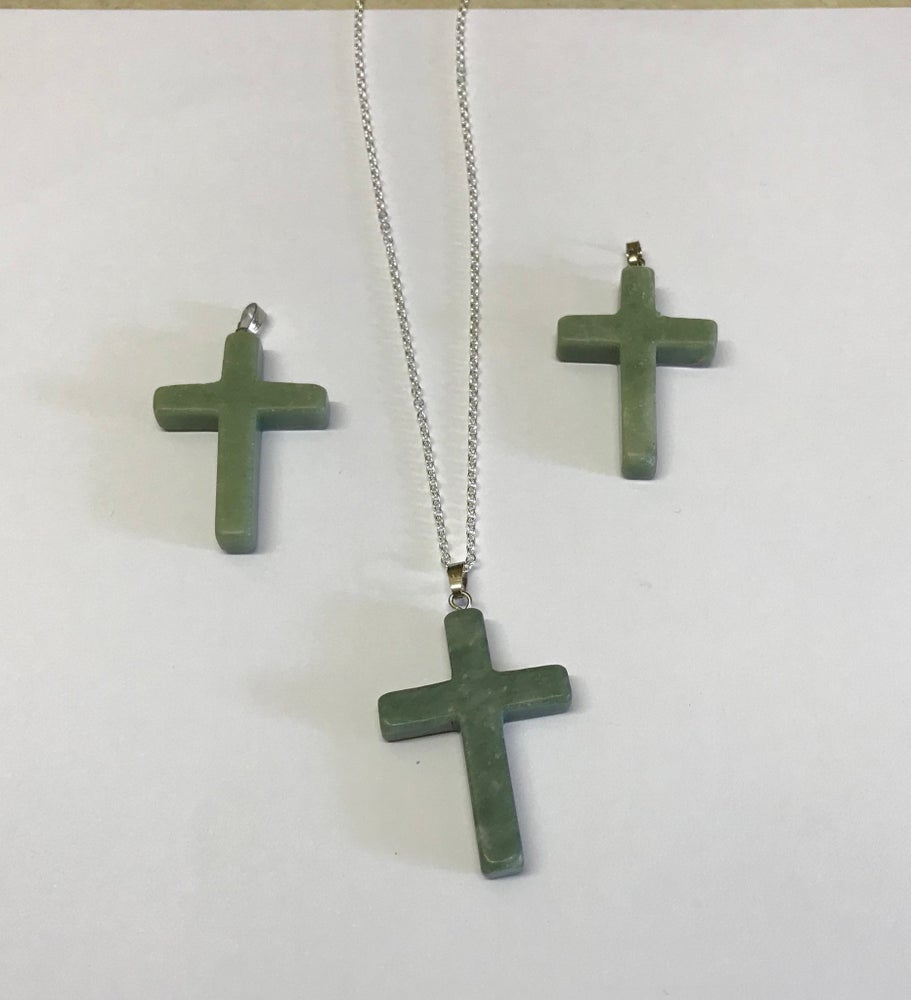 Image of Silver Jade Cross