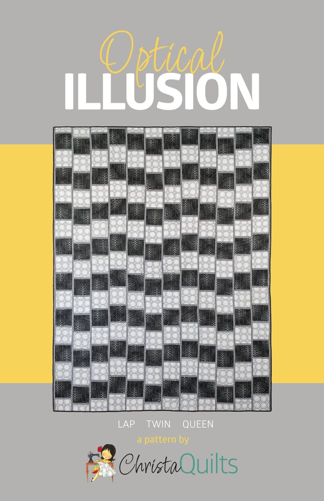 Image of Optical Illusion Quilt Pattern by Christa Watson (CQ124)