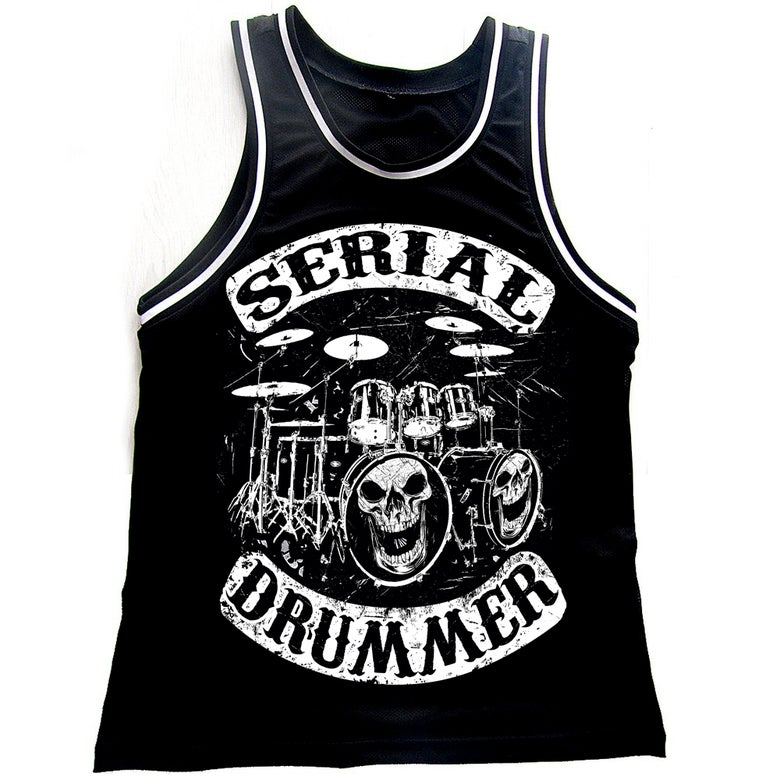 Image of MESH TANK - DRUMMERS OF ANARCHY