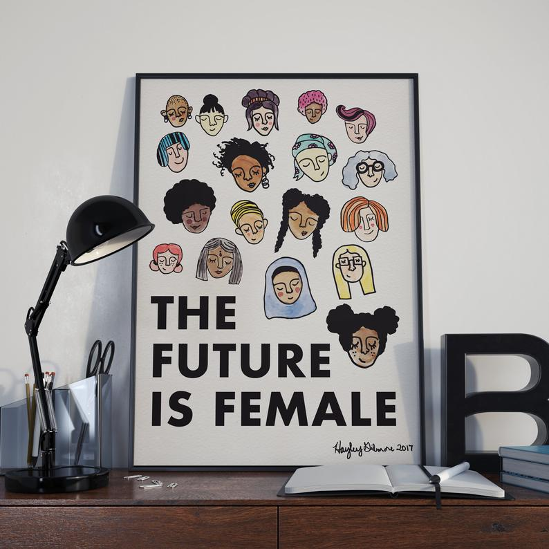 Image of The Future Is Female Print - Various Sizes