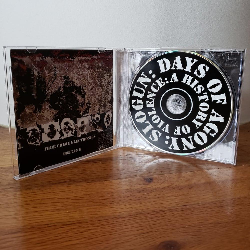 "B!080 Slogun ""Days Of Agony"" CD"