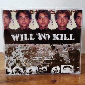 "Image of B!062 Slogun ""Will To Kill"" CD"