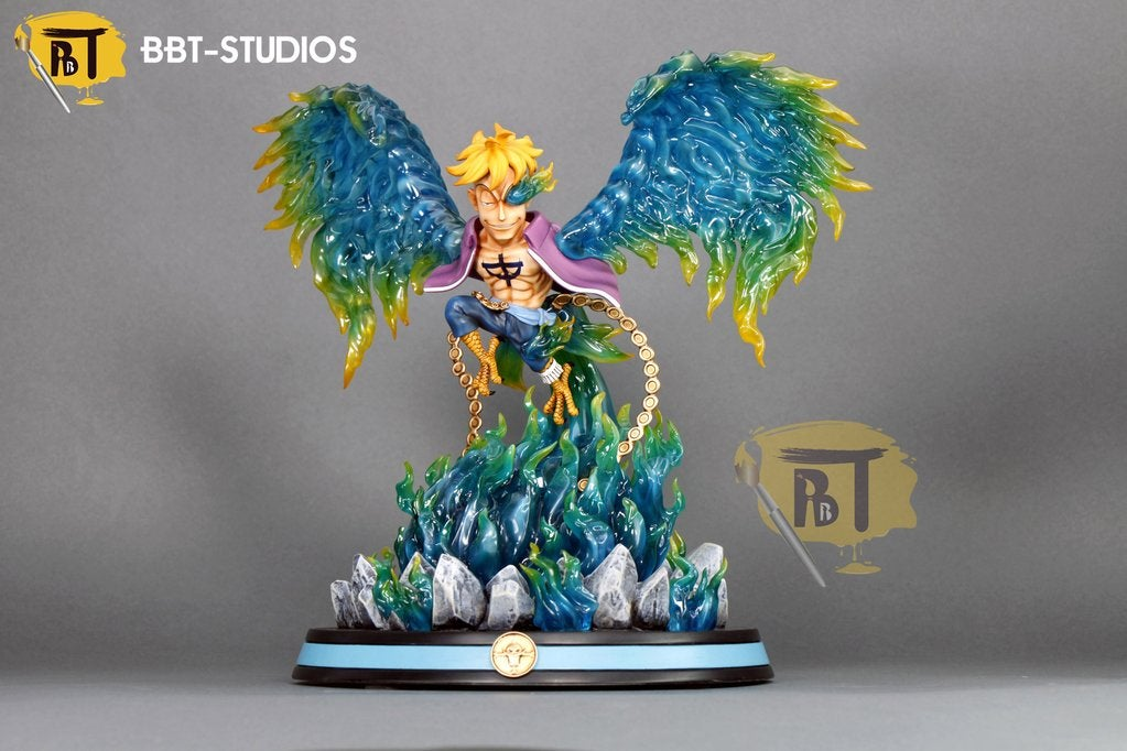 Image of One Piece BBT Studio SD Marco The Phoenix Resin Statue