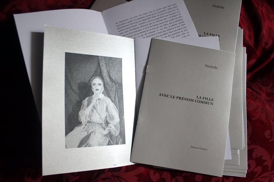 Image of La fille avec le prénom commun / Ed. Furtives