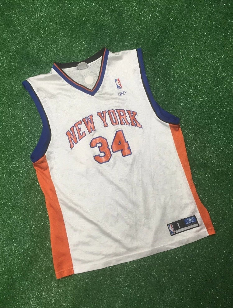 Image of Vintage Antonio McDyess New York Knicks Jersey (Size Large)