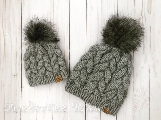 Image of Mommy & Me Beanie Sets