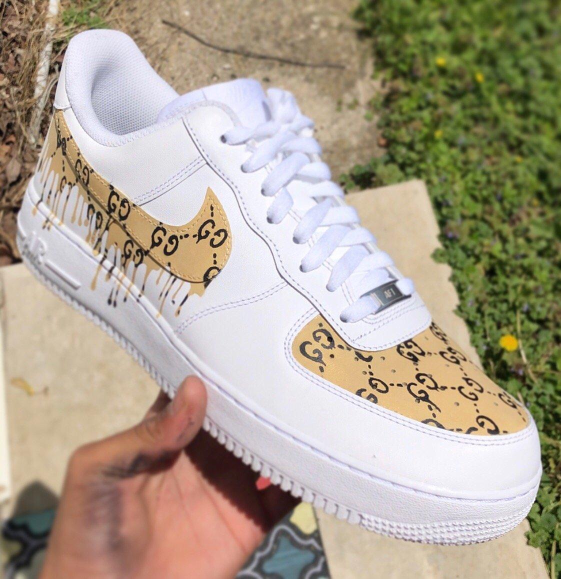 Air Force 1 Gucci Drip Chacha Customs