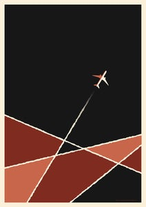 Image of Plane Artprint