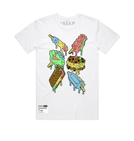 "Image of ""Ice Cream"" - White Unisex Tee"