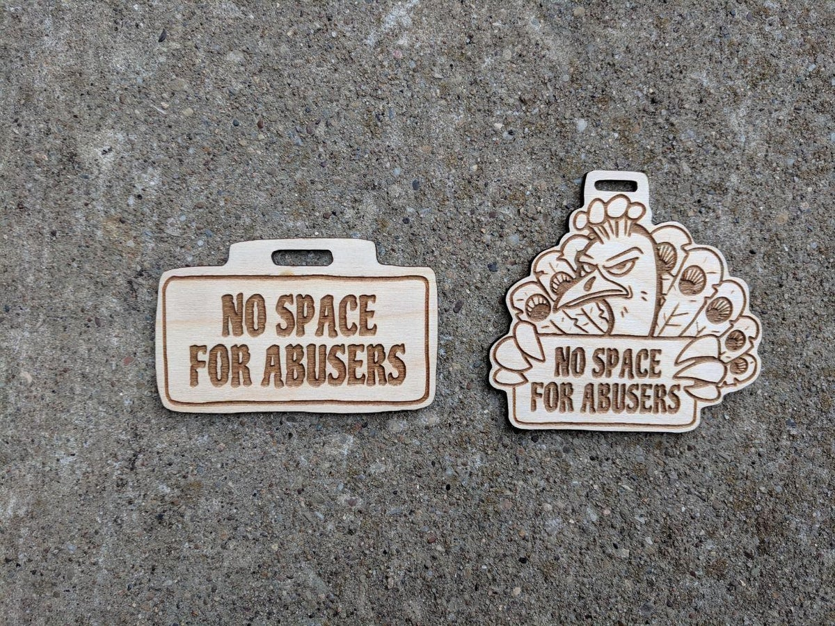 Image of No Space For Abusers