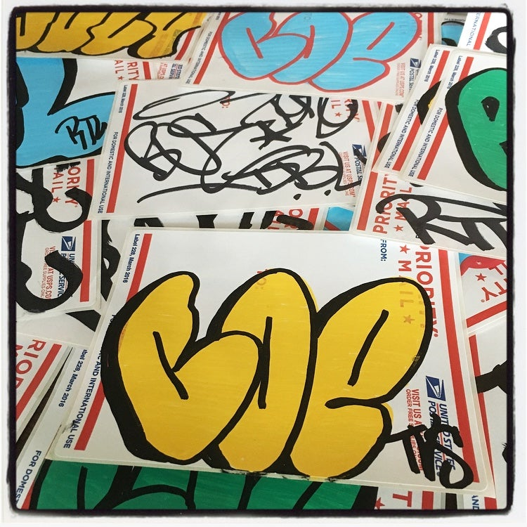 Image of BOE RTW STICKER PACK