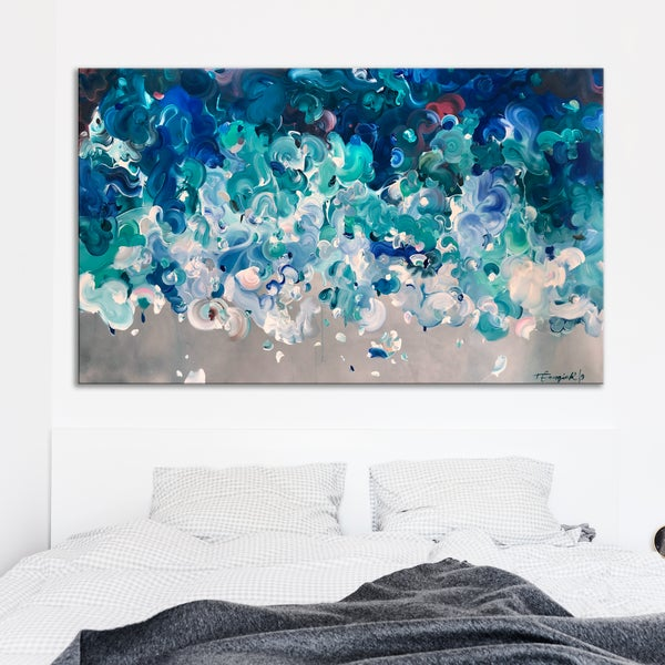 Image of Perfect storm - 200x120cm