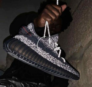 "Image of YEEZY BOOST 350 V2 ""BLACK REFLECTIVE"