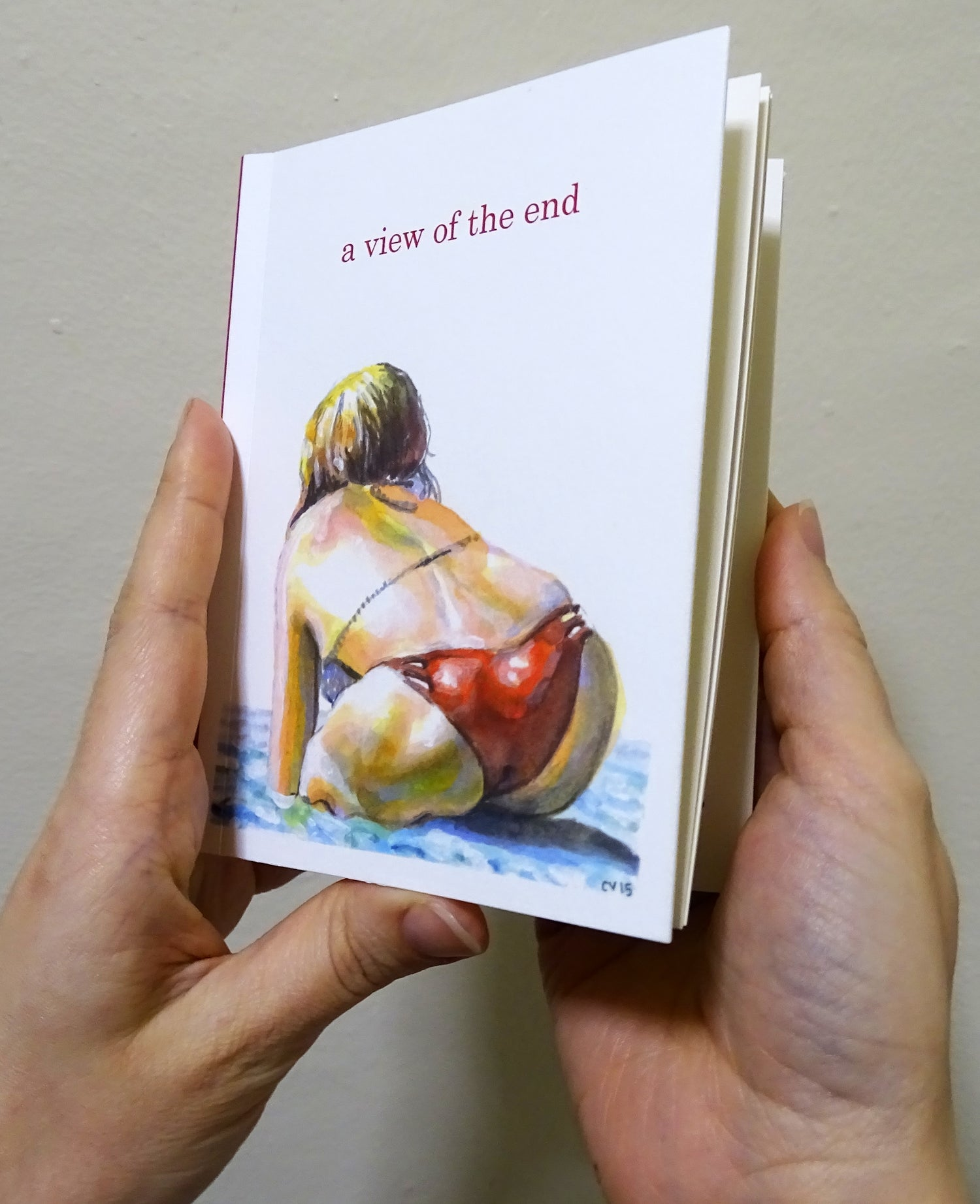 Image of Book - a view of the end