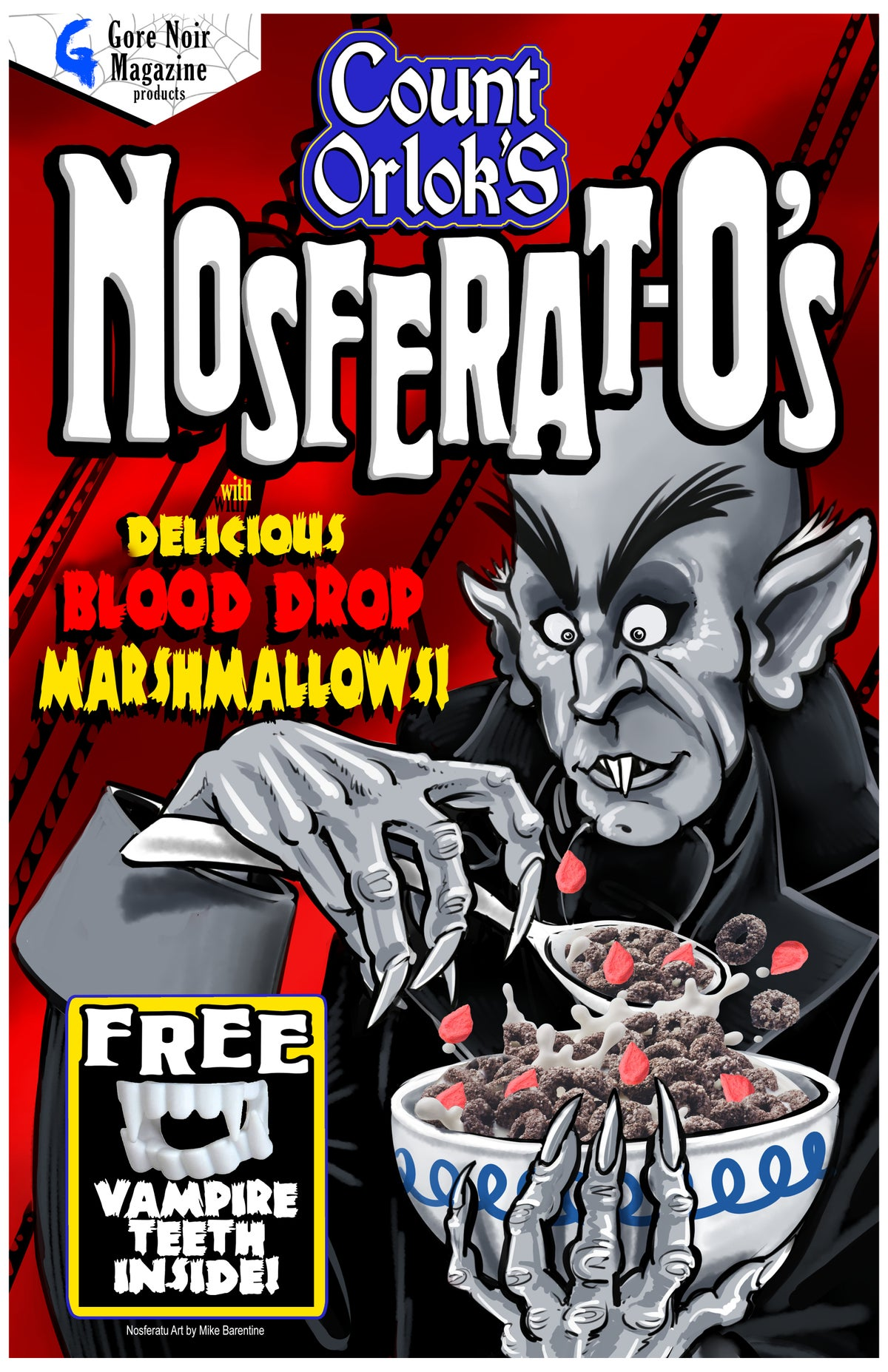 Image of Nosferat-O's Cereal 11x17 Poster