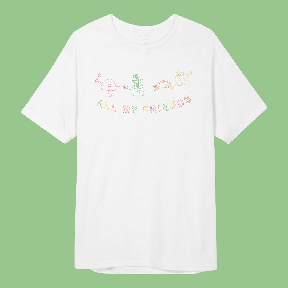 Image of 'ALL MY FRIENDS' S/S Tee