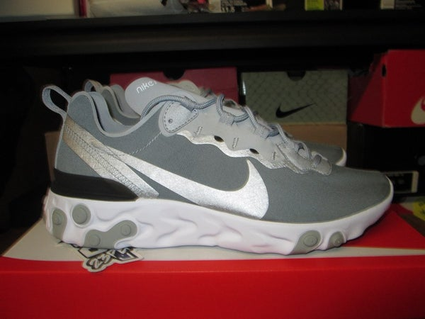 "Nike React Element 55 ""Metallic Silver"" - FAMPRICE.COM by 23PENNY"