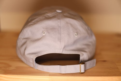 Image of Baby Blue Highly Favored Dad Cap// God Gives Favor To The Humble.