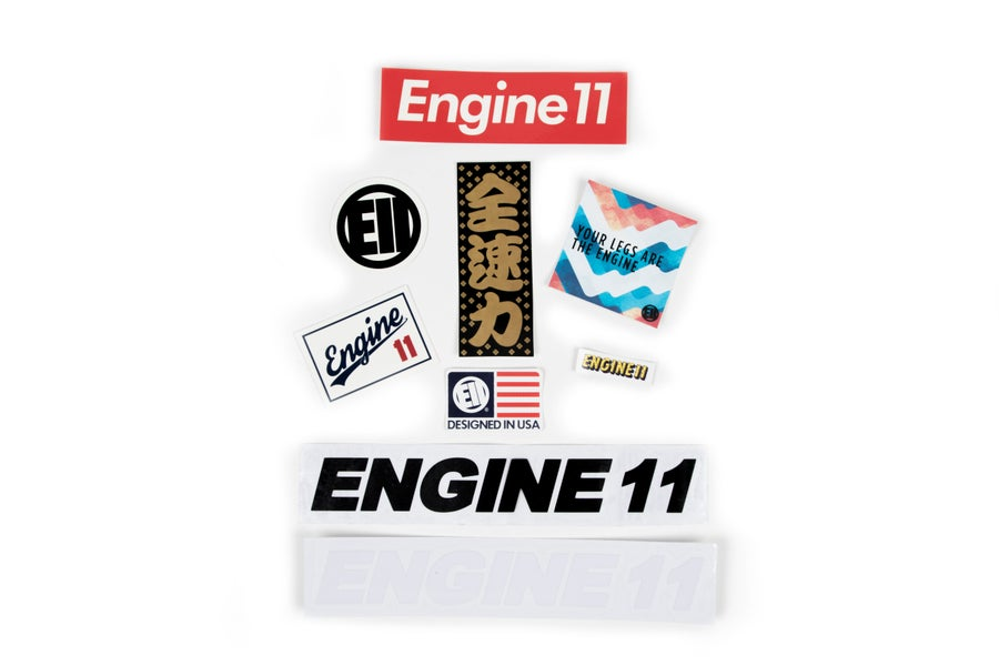Image of Engine11 sticker