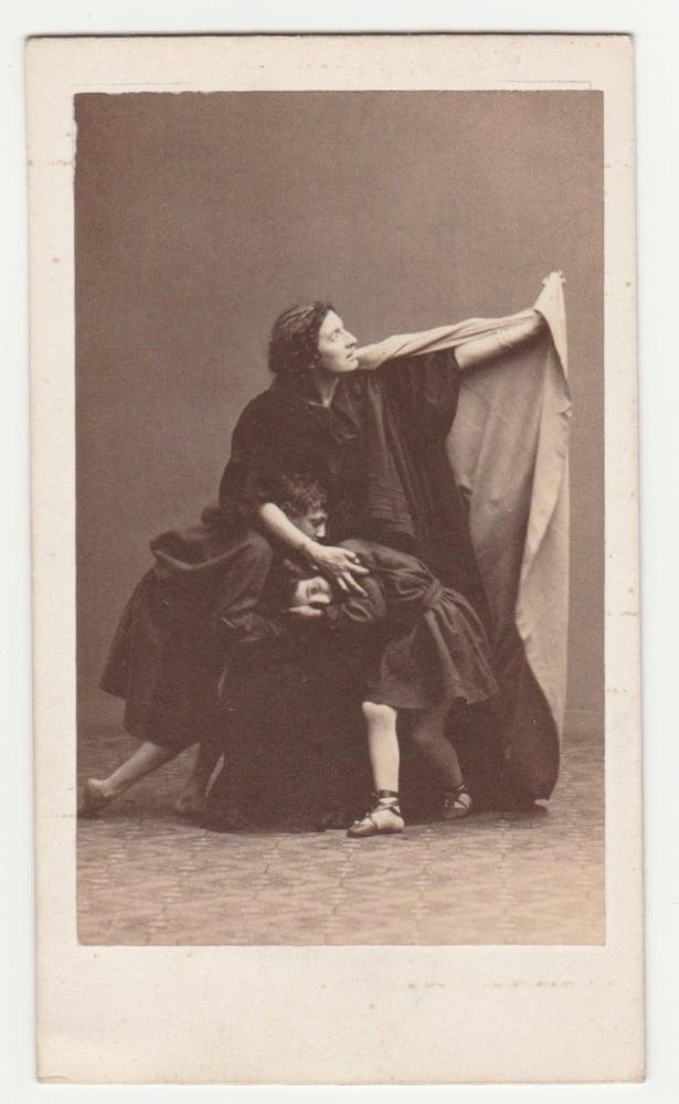 Image of A.A.E. Disdéri: Ristori in Médée, ca. 1858