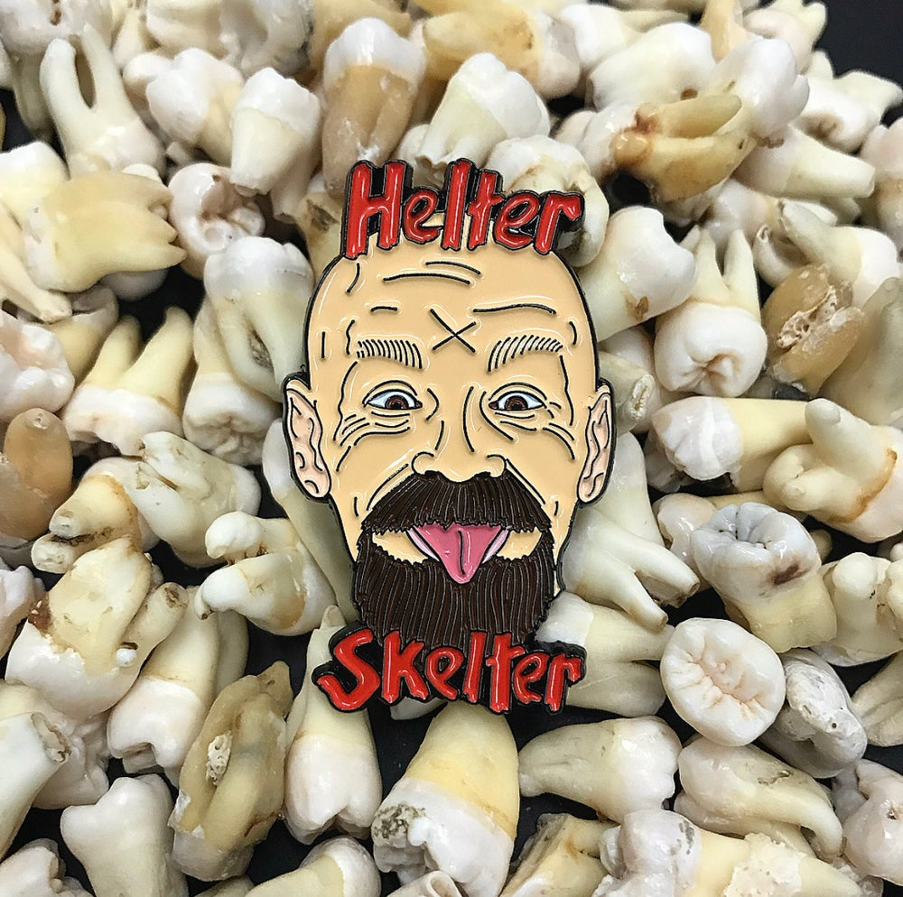 Image of Cult Leader Charles Manson Soft Enamel Pin