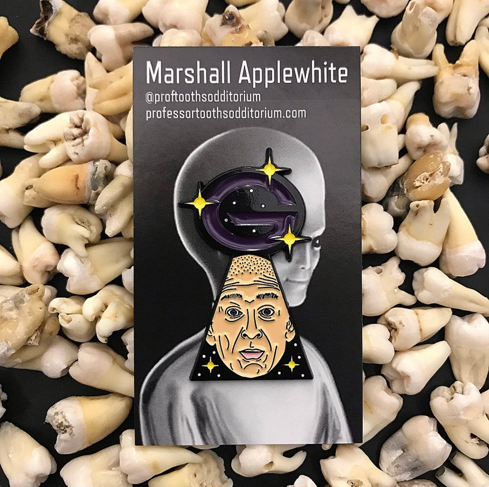Image of Cult Leader Marshall Applewhite Enamel Pin