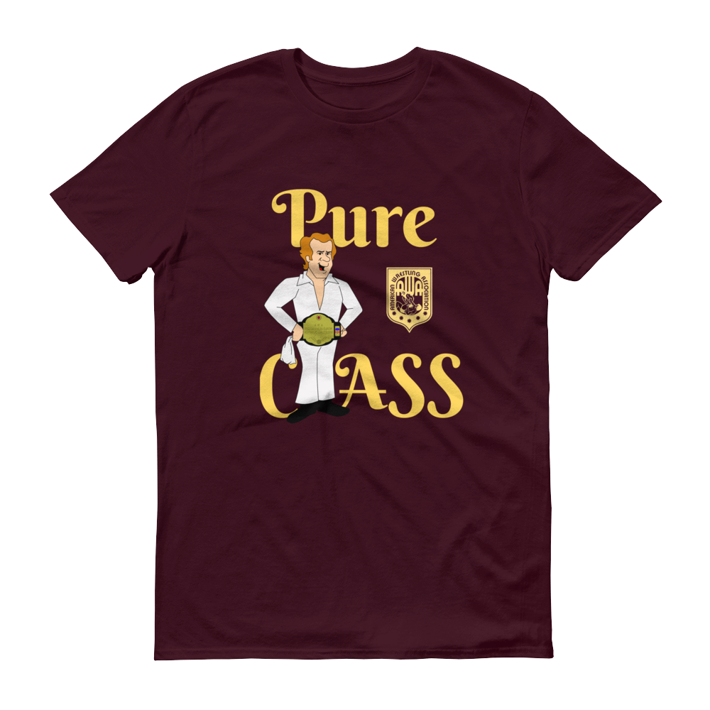 Image of Bockwinkel: Pure Class Act (Navy, Maroon, or Black, American Apparel 2001 Fine Jersey Tee)