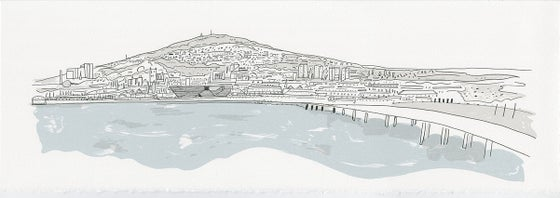 Image of Dundee Panorama screen print