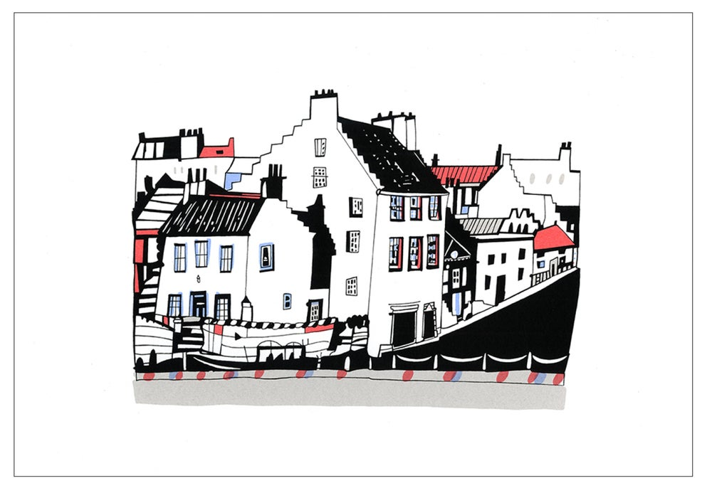Image of Crail screen print